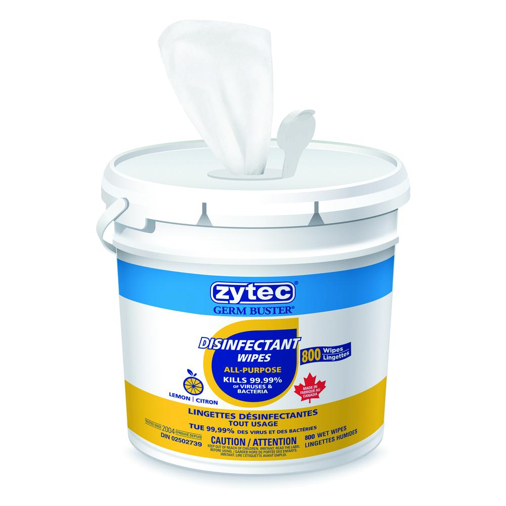 All-Purpose Disinfectant Wipes - 800 Pack