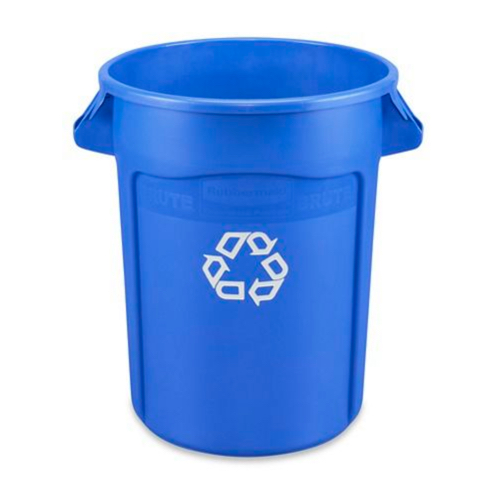 Recycling Can - 32 Gallon, Blue
