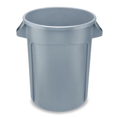 Trash / Garbage Can - 32 Gallon, Gray
