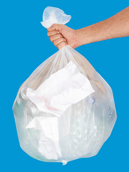 Clear Recycling Bags - 5 Pack