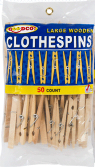 C-47 Clothes Pegs - 50 Pack