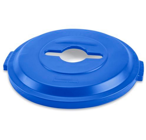 Recycling Can Lid (32G) - Blue