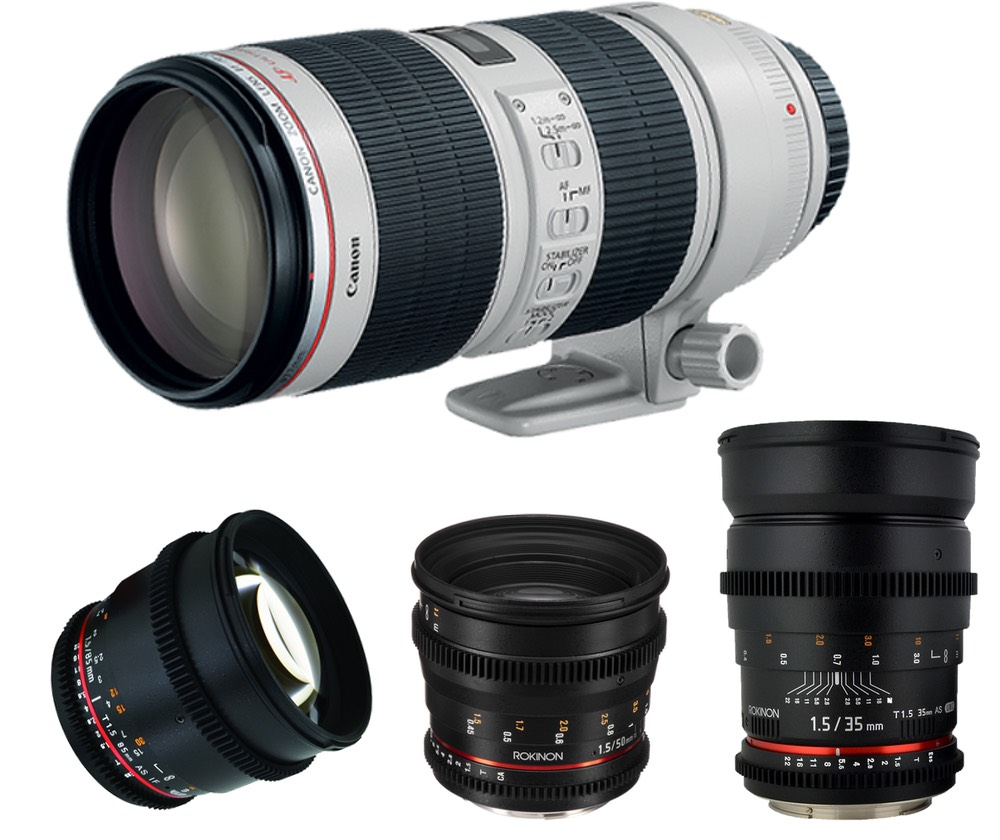 Canon EOS EF Mount 4 Lens Kit